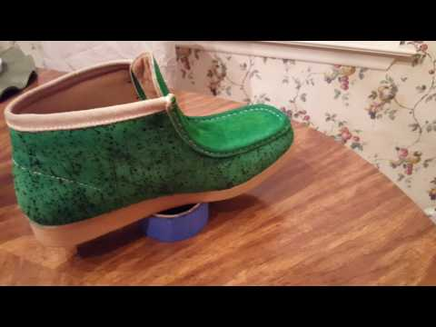 How to dye wallabees