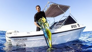 YBS Lifestyle Ep 24 - SPEARFISHING MONSTER MAHI MAHI | Shark Frenzy | Marlin Free Swim