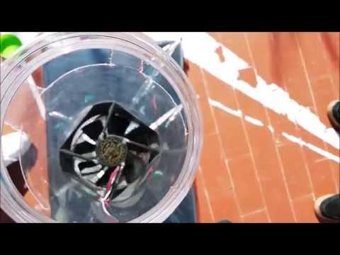 Prototipo de chimenea solar