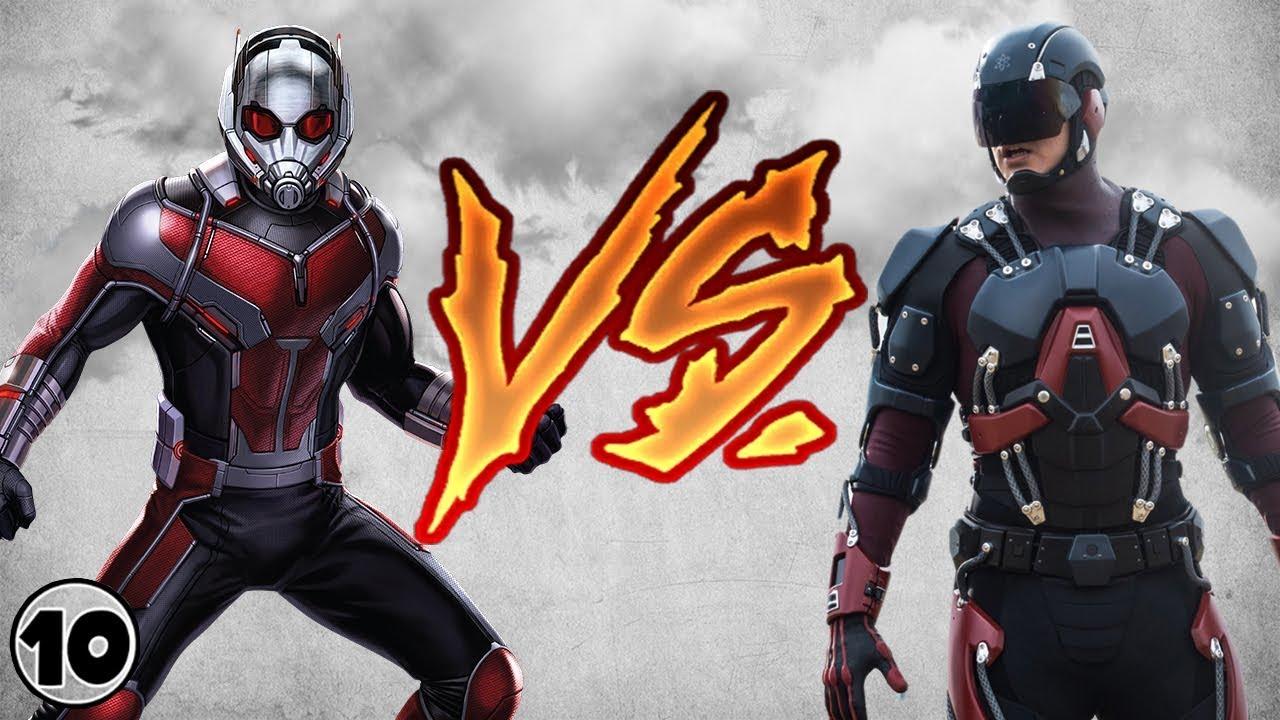 Atom Vs Ant Man