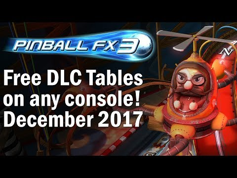 Get Free Tables in Pinball FX3 on any console! (December 2017) - GGRC