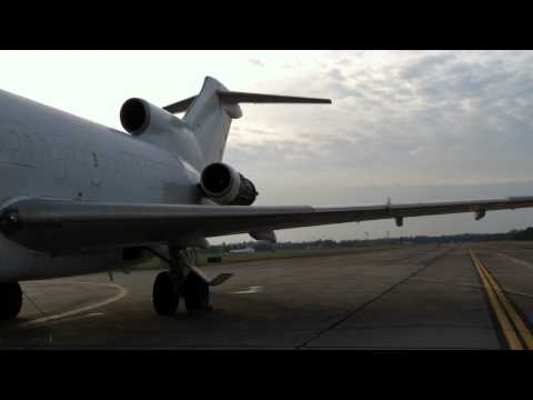 MVCC Aviation B727 Engine #1 First Run
