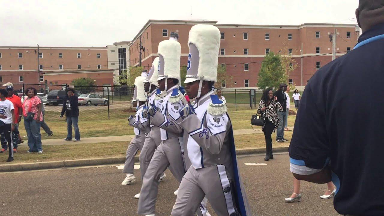 Stephenson High School Band at the Jackson State 2015 Homecoming Parade
