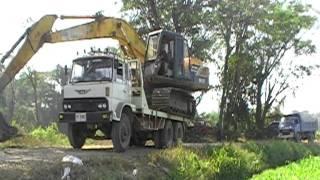 amazing thailand excavator unseen in thailand