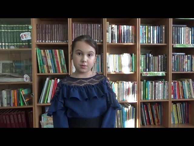 Изображение предпросмотра прочтения – ДарьяСтепанова читает произведение «Чародейкою Зимою…» Ф.И.Тютчева