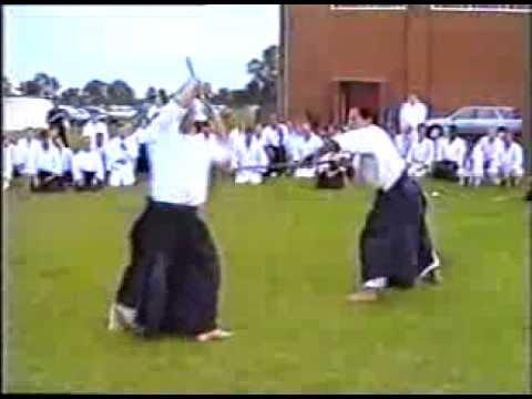 UKA Summer School 1993 - Chiba Sensei and Ismail Hasan