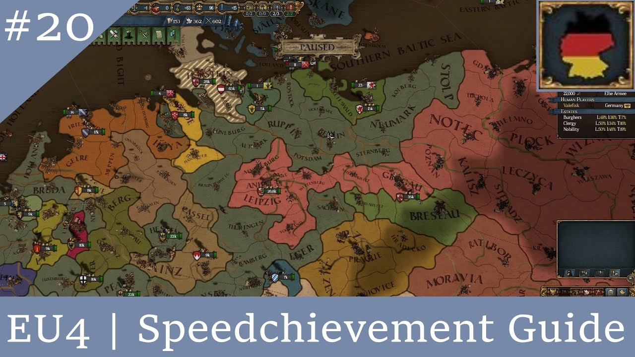 EU4 | Speedchievement: An Early Reich - YouTube