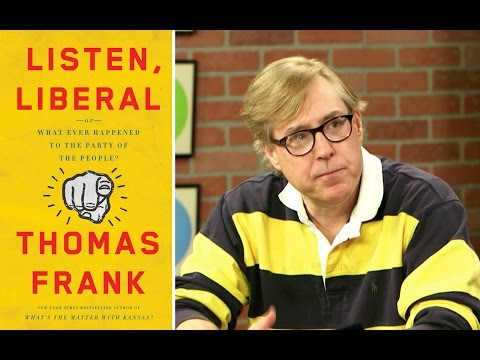 For author Thomas Frank, complacency is at the center of Democrats' problems