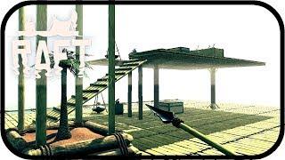 raft zweite etage für das floß 015 lets play raft deutsch multiplayer