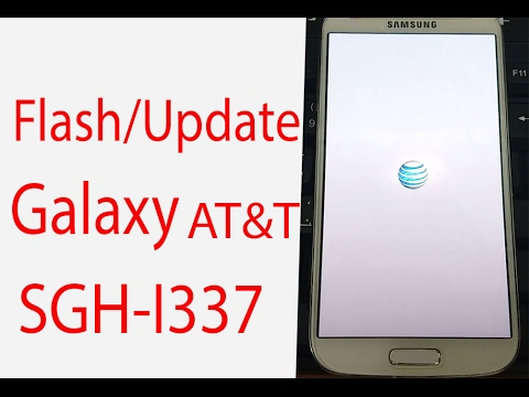 How To Flash Update Galaxy Att S4 Sgh I337 ᴴᴰ Youtube