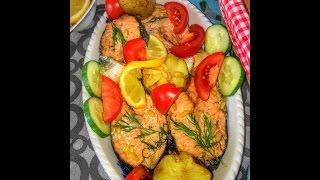Рыба приготовление / Маринад рыба / Лосось в маринаде / Маринованная рыба лосось