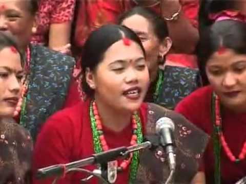 "panche baja dohari 1(hq) ""Nepali Folk Song"" "" Panche Baja"""