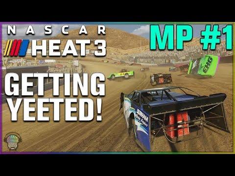 GETTING YEETED! (DIRT RACING!) | Multiplayer | NASCAR Heat 3 |