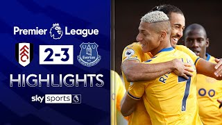 Calvert-Lewin fires Everton back to winning ways! | Fulham 2-3 Everton | Premier League Highlights