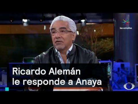 Ricardo Alemán le responde a Anaya sobre viajes a EE.UU. - Despierta con Loret