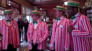 Disneyland Dapper Dans Sing Christmas Carols!