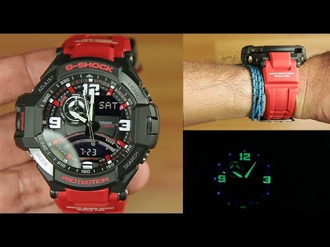 76ee7091078 Casio G-shock Gravity Master GA-1000-4B Red edition   Unboxing - YouTube