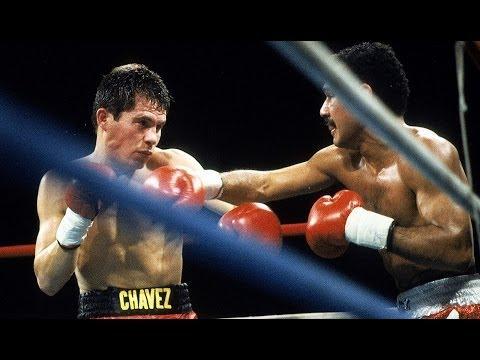 11. Julio Cesar Chavez TKO 11 Edwin Rosario WBA 135lb, Nov 1987