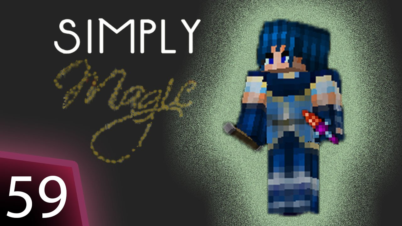 Simply Magic Modpack - Ep 59 - Time to get that Witchery familiar