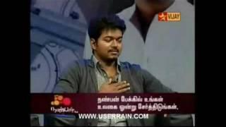 actor vijay unbeatable punch dialogue
