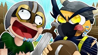 Hand Simulator - GOOFY VIKING FIGHTS! (Funny Moments)