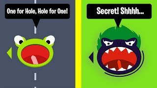 HOLE.IO ALL SKINS UNLOCKED! HOW TO GET *ONE FOR HOLE, HOLE FOR ONE* SKIN!