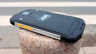 AGM A8 обзор горячей новинки 2k17. Бюджетный флагман среди ширпотреба с IP68 и Qualcomm Snapdragon.