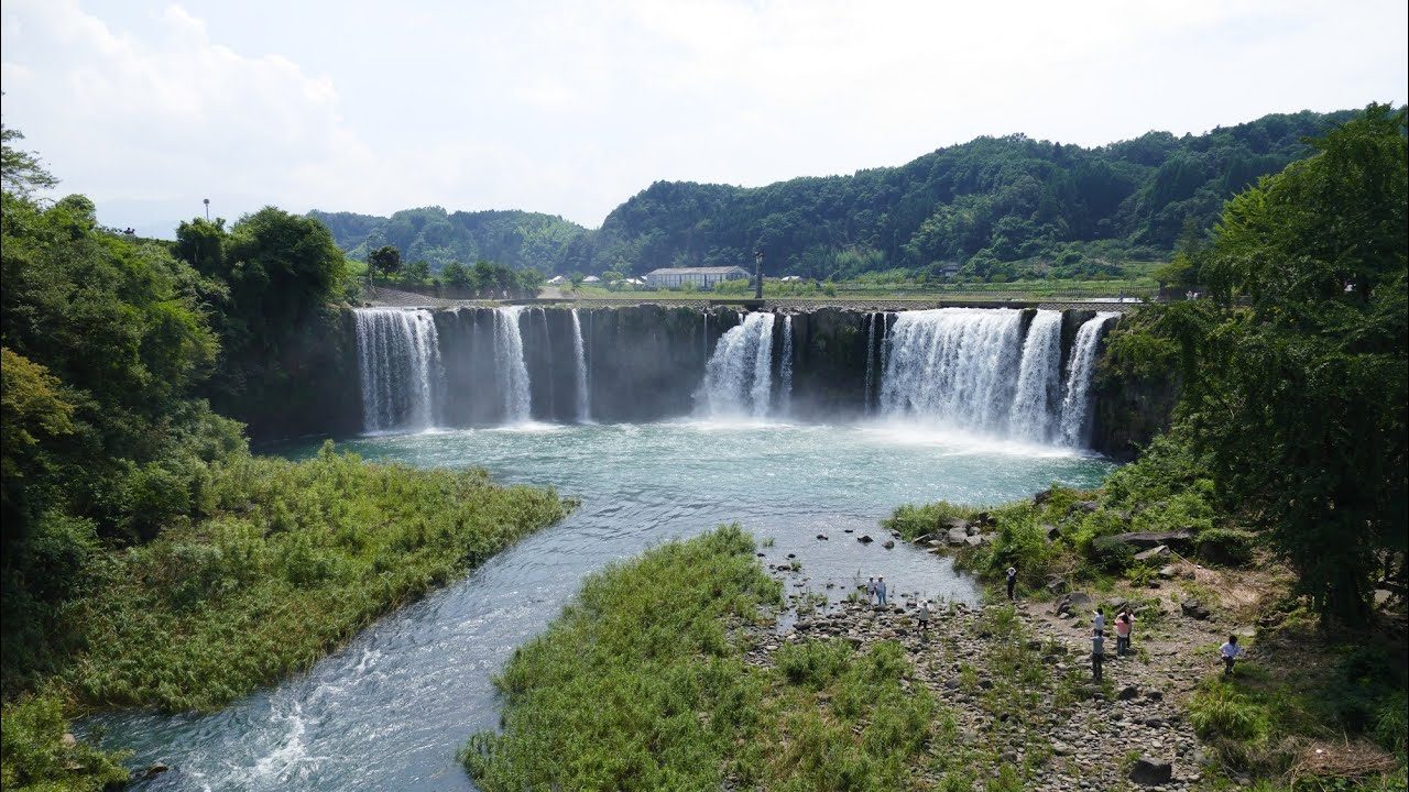 ������ ������������harajili falls and harajili stone bridge in ogata