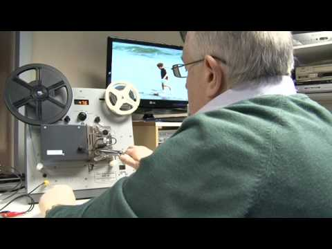 Transfer super 8, cine film and video to DVD