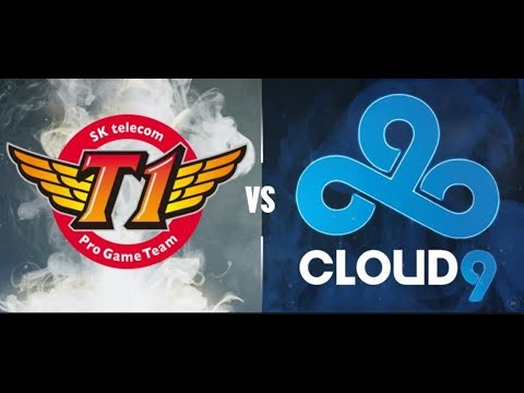 SK Telecom T1 vs Cloud 9 Game 1 Main Group Stage Round 1 World's 2017