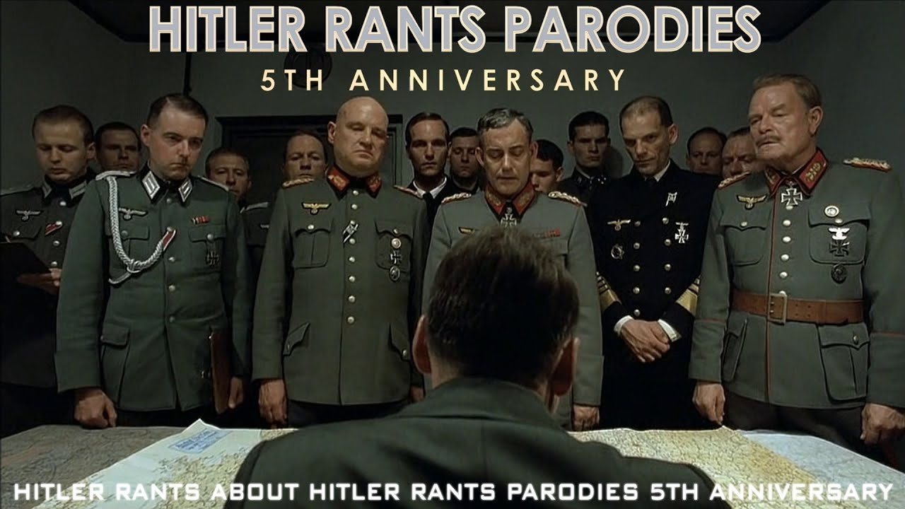 Hitler rants about Hitler Rants Parodies 5th Anniversary