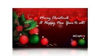 CHRISTMAS CARD ( Tutorial on How to create a Christmas Card in Adobe Illustrator)