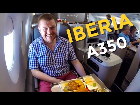 Flying IBERIA A350 Business Class: My Review