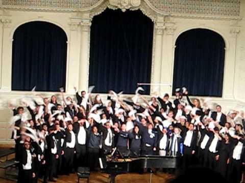 Bright College Years - Yale Glee Club 2009