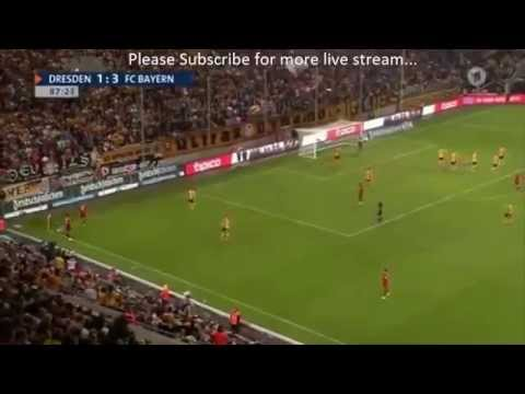 Bayern München vs Dynamo Dresden 3-1 All Goals & Full Match Highlights Friendly Match 2015 HD