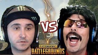 DrDisRespect VS Summit1g on Battlegrounds [Full Game]