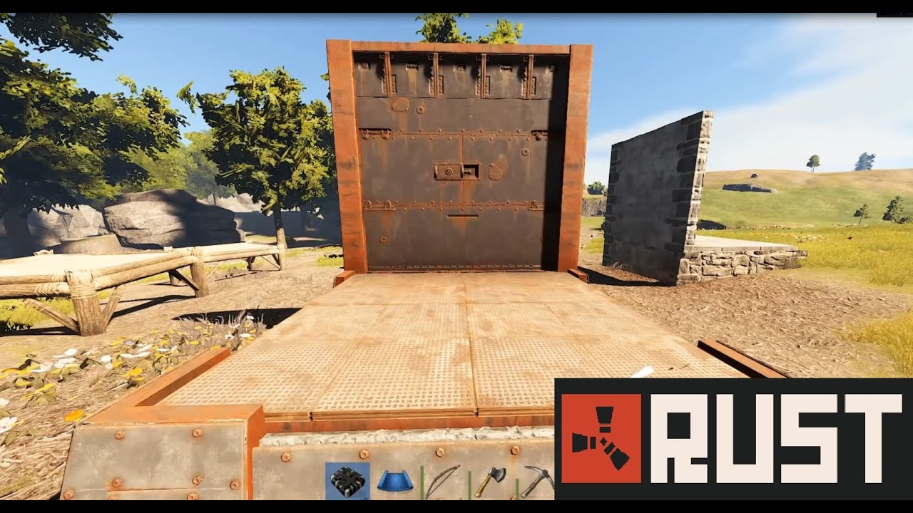 Rust Changes To Building Damage C4 And Melee Youtube