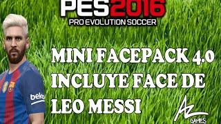 pes 2016   minifacepack 4 0 incluye messi platinado   mega
