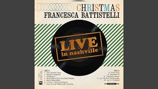 Provided to YouTube by Curb Records You're Here (Live) · Francesca Battistelli Christmas Live In Nashville ℗ Word Entertainment LLC, A Curb Company.