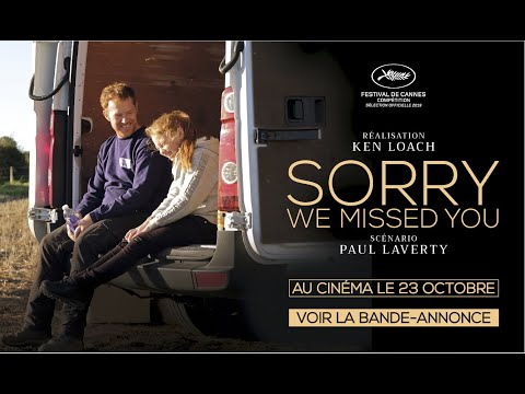 Bande-annonce SORRY WE MISSED YOU VOSTF