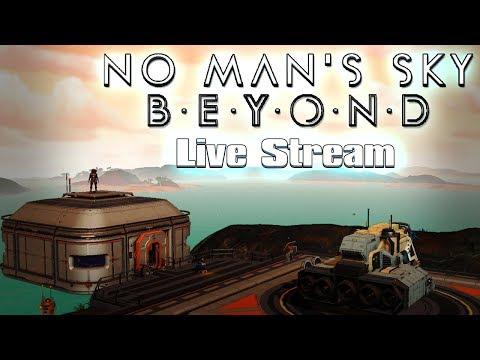 HORA DE JUGAR CON ALGUNOS EDIFICIOS BASE - No Man's Sky Live Ep8 + vídeo