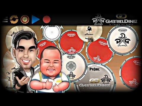 Real Drum 🎶É bom dimai Junior - Gabriel Diniz🎶 Nilkson Drummer