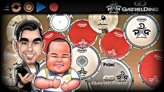 Baixar Real Drum 🎶É bom dimai Junior - Gabriel Diniz🎶 Nilkson Drummer