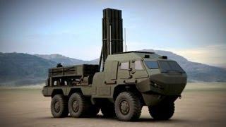 MBDA - CVS302 Hoplite Land/Naval-Launched Precision UAV Missile System Combat Simulation [480p]