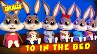 Ten in the Bed | Songs for Children | Cartoon Videos for Babies