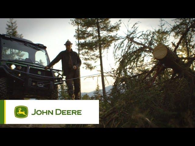 John Deere - Gator - Verricello potente