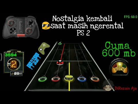 Cara Download Dan Mainkan Game Guitar Hero PS 2 Di Android Kalian