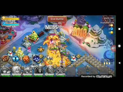 Castle Clash - Sniping Lavanica Top 100 accts