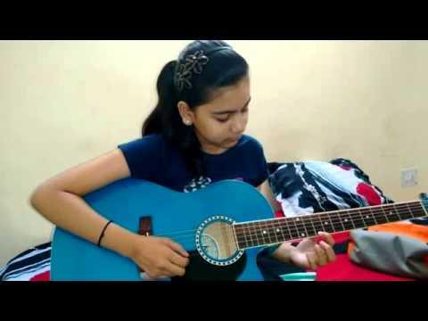 Barish Yaariyan Guitar Cover ( Aashvi Jain) - YouTube