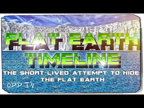 Flat Earth Timeline | The History of Flat Earth ▶️️ thumbnail